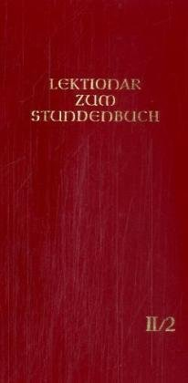 9783451183522: Lektionar zum Stundenbuch, Bd.2/2, Fastenzeit