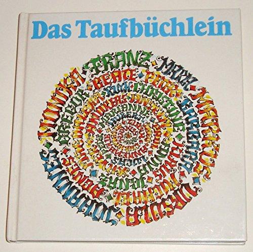 9783451188046: Das Taufbüchlein (Gebundene Ausgabe)