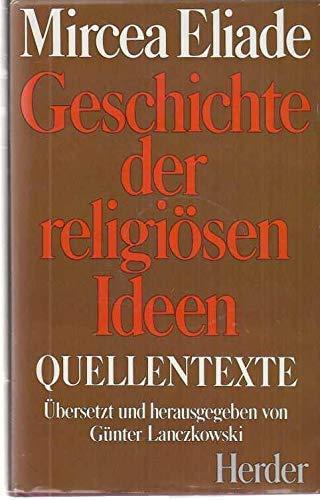 9783451189630: Geschichte Der Religiosen Ideen Quellentexte