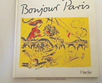 9783451199486: Bonjour Paris: 23 Lithographien (German Edition)