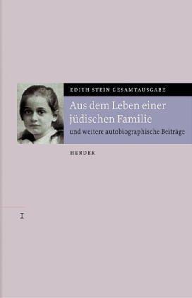 9783451204012: Aus dem Leben einer jüdischen Familie. Kindheit und Jugend, Bd VII