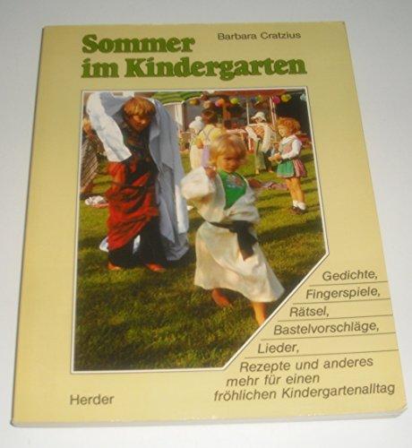 Sommer Im Kindergarten Gedichte Fingerspiele Rätsel