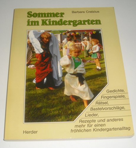 Barbara Cratzius Sommer Kindergarten Gedichte Fingerspiele