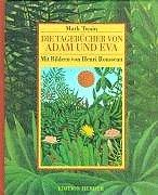 9783451234583: Die Tagebücher von Adam und Eva.