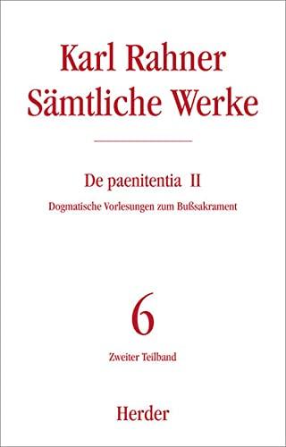 9783451236280: Karl Rahner - Saemtliche Werk
