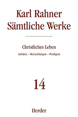 Christliches Leben: Karl Rahner