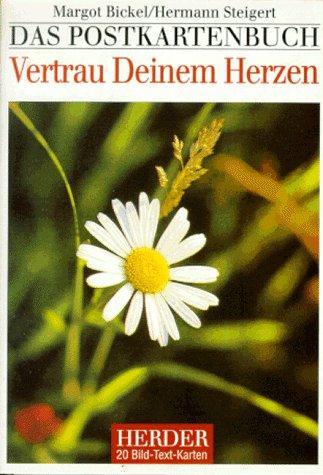 9783451239915: Vertrau Deinem Herzen. 20 farbige Postkarten. Bild- Text- Karten.