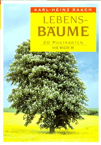 9783451263088: Lebens- Bäume. Das Postkartenbuch.