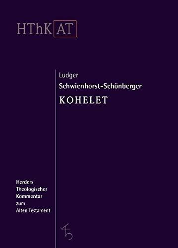 Kohelet: Ludger Schwienhorst-Schönberger