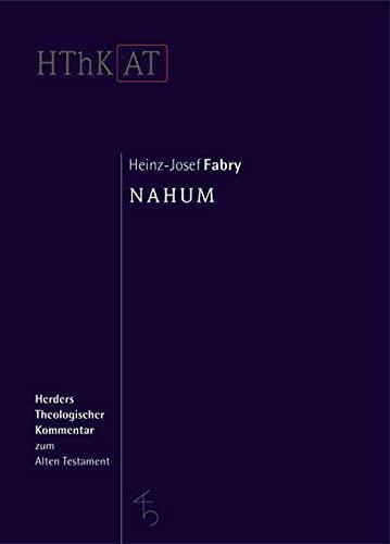 9783451268502: Nahum