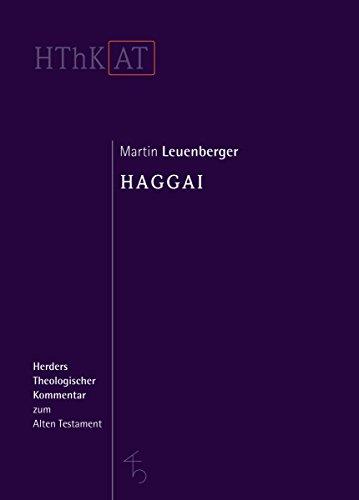 Haggai: Martin Leuenberger