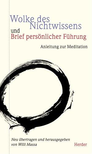 9783451269998: Wolke des Nichtwissens und Brief persönlicher Führung. Anleitung zur Meditation.