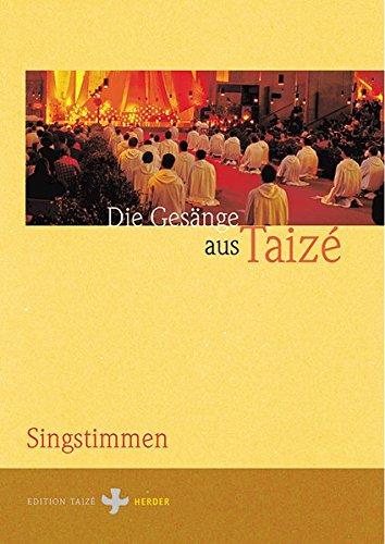9783451276835: Gesänge aus Taize. Singstimmen.