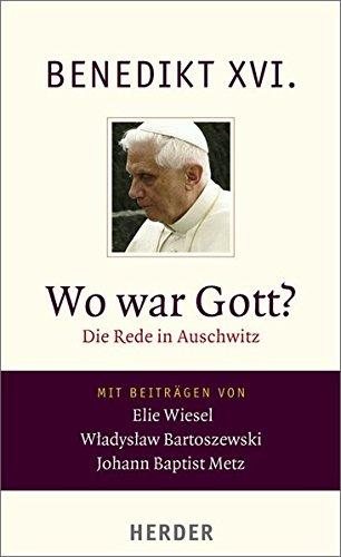 Elie Wiesel Wo Ist Gott