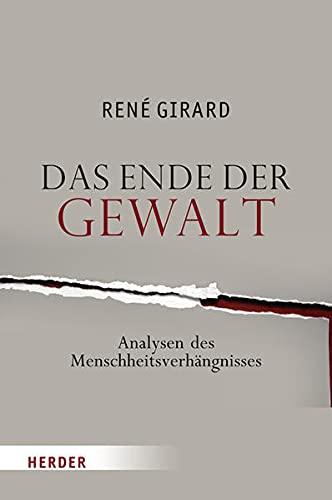 9783451293856 Das Ende Der Gewalt Analyse Des