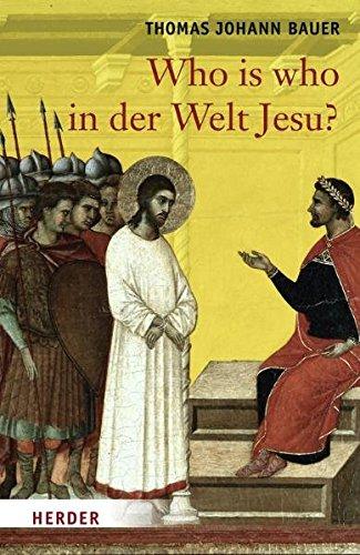9783451296154: Who is who in der Welt Jesu?