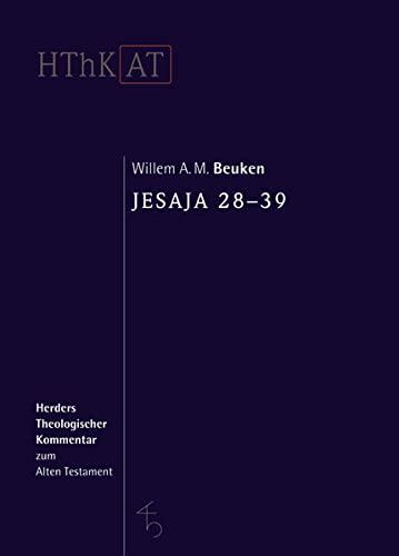 Jesaja 28-39: Willem A. M. Beuken