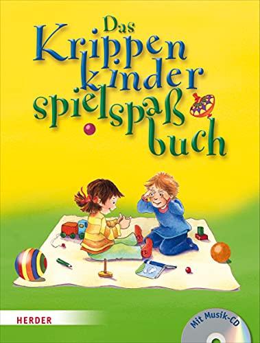 9783451327711: Das Krippenkinderspielspa�buch: Mit Musik-CD