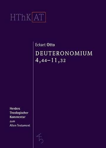 Deuteronomium 1-11: Eckart Otto