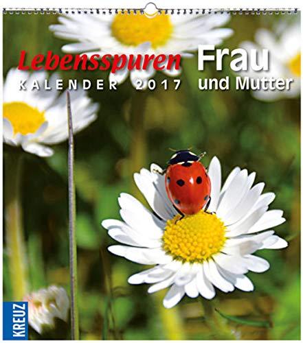 9783451348389: Lebensspuren Frau und Mutter 2017: Postkarten-Kalender