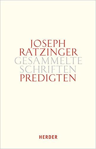 9783451386145: Predigten 14/2: Homilien - Ansprachen - Meditationen (Joseph Ratzinger Gesammelte Schriften)