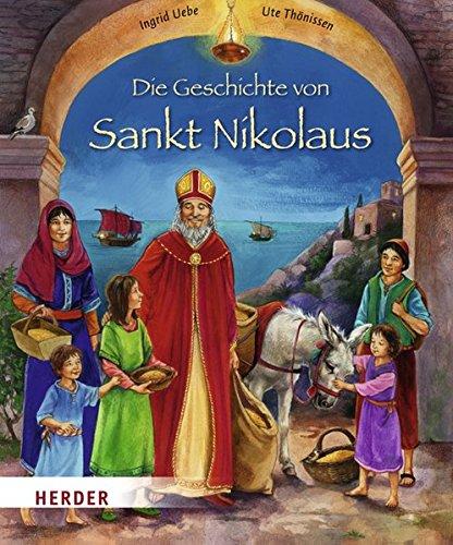 9783451709661: Die Geschichte von Sankt Nikolaus