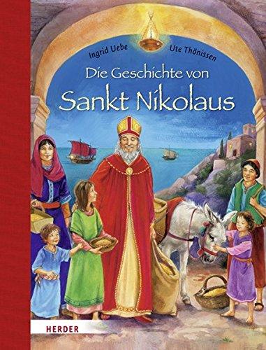 9783451710759: Die Geschichte von Sankt Nikolaus