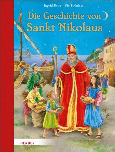 9783451712074: Die Geschichte von Sankt Nikolaus
