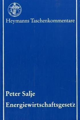 Energiewirtschaftsgesetz: Peter Salje