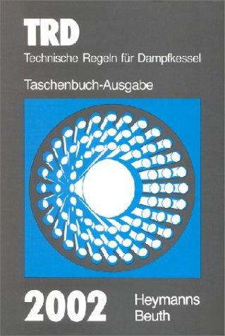 9783452254214: Technische Regeln für Dampfkessel (TRD) 2002