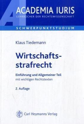 9783452257406: Wirtschaftsstrafrecht. by