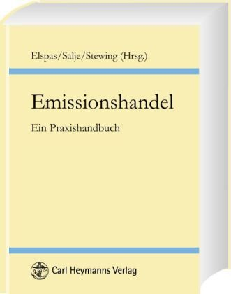 9783452259059: Emissionshandel - Ein Praxishandbuch