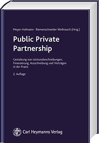 9783452262400: Public Private Partnership