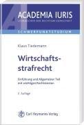 9783452267269: Wirtschaftsstrafrecht: Einf�hrung und Allgemeiner Teil mit wichtigen Rechtstexten