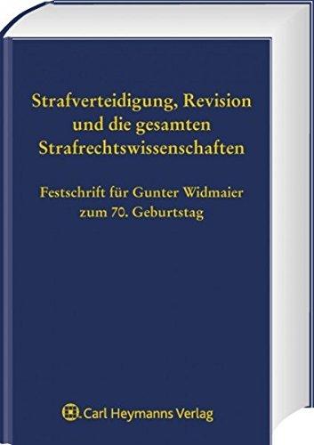 Festschrift für Gunter Widmaier zum 70. Geburtstag: Heinz Sch�ch
