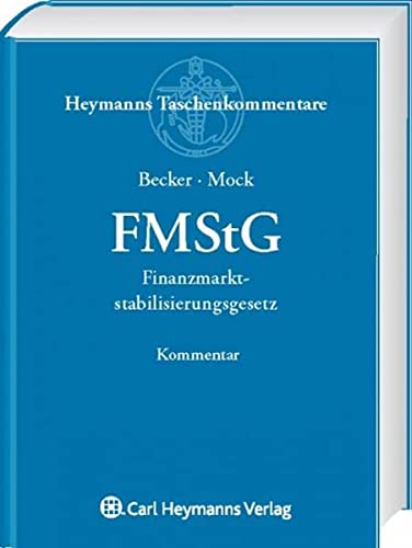 FMStG - Finanzmarktstabilisierungsgesetz: Florian Becker