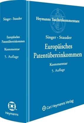 9783452271358: Europäisches Patentübereinkommen (EPÜ)