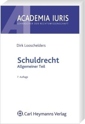 9783452271389: Schuldrecht . Allgemeiner Teil