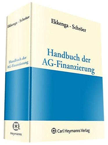 9783452271518: Handbuch der AG-Finanzierung