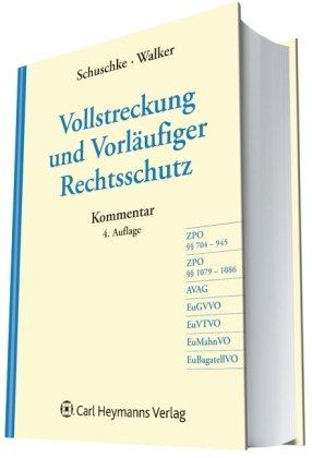 9783452271877: Vollstreckung und Vorläufiger Rechtsschutz