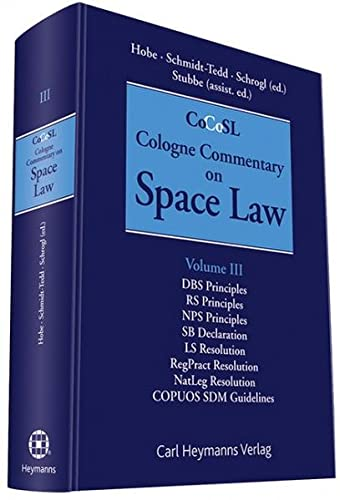 9783452272133: Cologne Commentary on Space Law