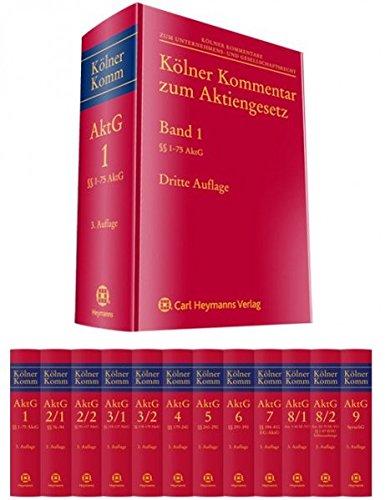 Kölner Kommentar zum Aktiengesetz (Band 8/2 / Teillieferung 2): §§ 34-47 SEBG; Schlussanhänge