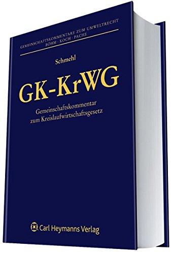 GK-KrWG: Arndt Schmehl