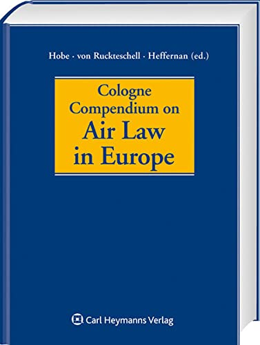 9783452275233: Cologne Compendium on Air Law in Europe