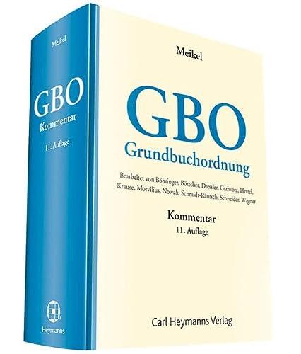 GBO: Grundbuchordnung - Kommentar (Hardback)