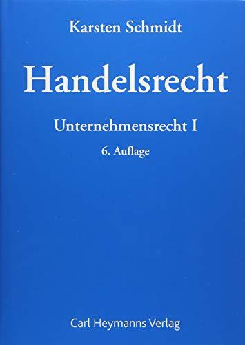 Handelsrecht: Karsten Schmidt