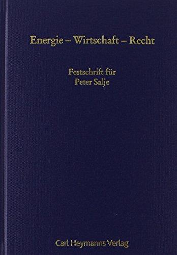 Energie - Wirtschaft - Recht: Andreas Klees