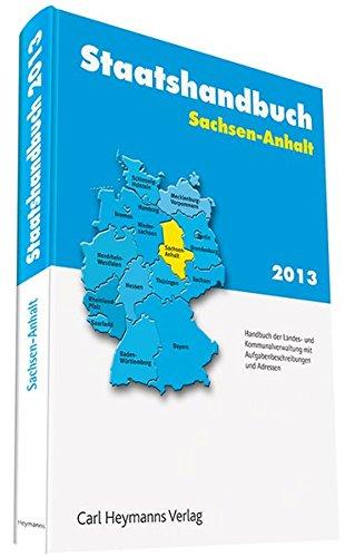 Staatshandbuch Sachsen-Anhalt 2013: Martina Ostarek