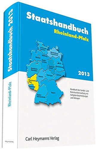 Staatshandbuch Rheinland-Pfalz 2013: Martina Ostarek