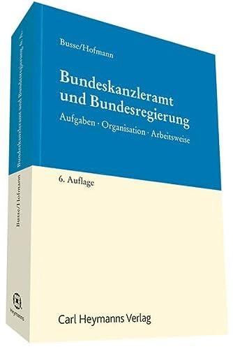 Bundeskanzleramt und Bundesregierung: Volker Busse